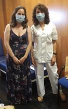 Verónica y Conchi. Unidad Docente